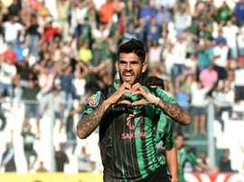Javier Toledo llega libre a Estudiantes tras un buen periplo en San Martín de San Juan. AFP/EFE