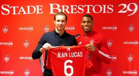 O Lyon empresta Jean Lucas ao Brest. Stade Brestois