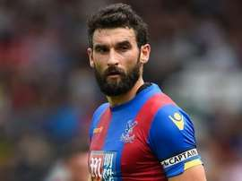 Jedinak, centrocampista del Crystal Palace. Twitter