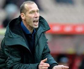 Jeff Strasser suffered a suspected heart attack. Kaiserslautern