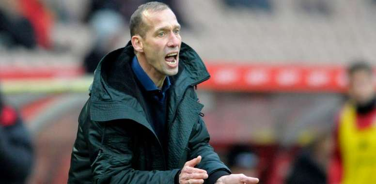 Jeff Strasser suffered a suspected heart attack. Kaiserslautern