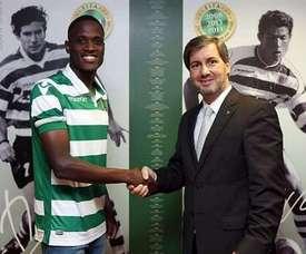 Jefferson Encada renueva hasta 2022 con el Sporting de Portugal. NuevoFútbol