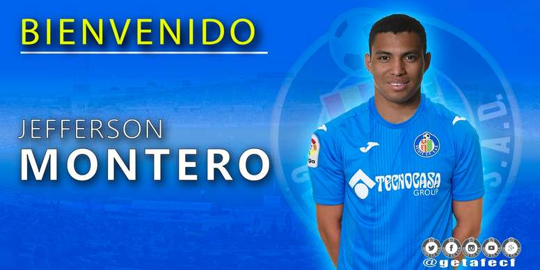 Getafe sign Montero on loan. GetafeCF