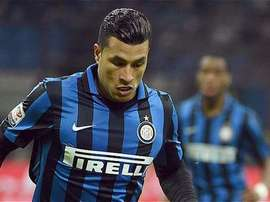 Jeison Murillo, during a game for Inter. Twitter