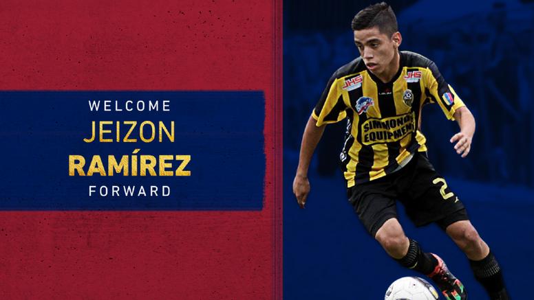 Jeizon Ramírez fue confirmado como nuevo jugador de Real Salt Lake. RealSaltLake