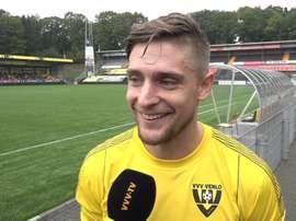 El VVV Venlo se refuerza con la llegada de Jens Janse. Twitter/VVV-Venlo