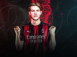 Hauge has signed for Milan. ACMilan