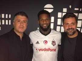 Le club turc a confirmé le transfert de Jeremain Lens. Twitter/Besiktas