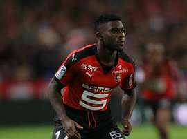 Jeremie Boga, alors sous le maillot de Rennes. L'Equipe