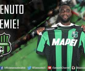 Boga has joined Serie A side Sassoulo from Chelsea. Twitter/ChelseaUS