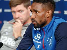 Defoe was involved in a car accident on Saturday. RangersFC
