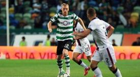 Jérémy Mathieu, jogador do Sporting. Facebook/Sporting CP