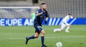 Ménez hizo su primer gol en el Paris FC. Twitter/ParisFC