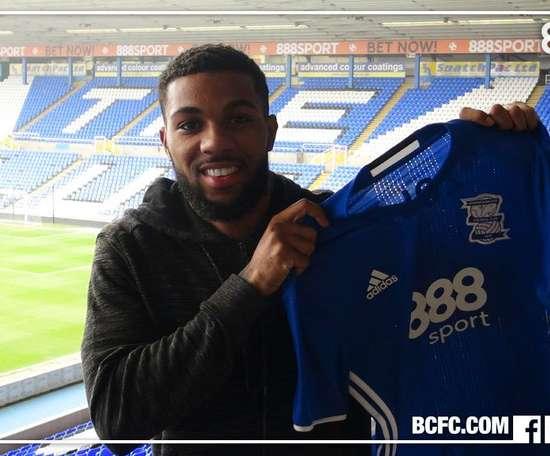 Jerome Sinclair llega procedente del Watford. BCFC