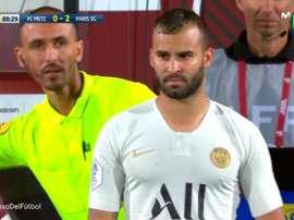 Deux minutes de jeu... qui font de Jesé un champion de France. Capture/Movistar