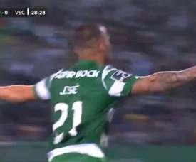 Jesé a de beaux restes : magnifique premier but avec le Sporting ! Captura/LigaNOS