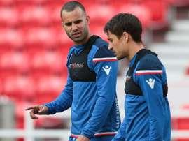 Le joueur espagnol ne retrouve pas le rythme. StokeCityFC