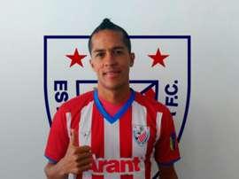 Jesús Álvarez, nuevo fichaje de Estudiantes de Mérida. EstudiantesMEFC
