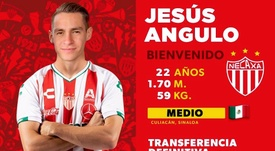 Necaxa se hace con Jesús Angulo