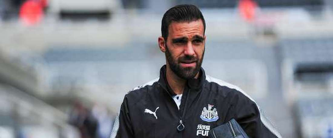 Gamez was not happy with his treatment. NUFC