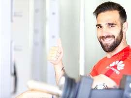 Jesus Gamez is happy about his swap. AFP
