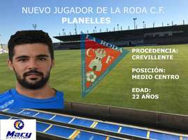 Jesús Planelles ficha por La Roda. Twitter/LaRoda