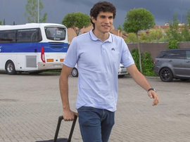 Jesus Vallejo could have his Wolves medical this Friday. EFE