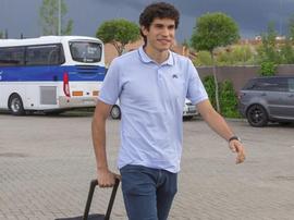 Vallejo veut jouer plus avec le Real Madrid. EFE