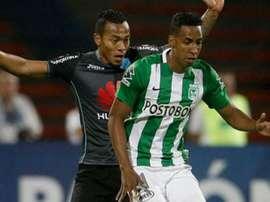 El jugador colombiano deberá cumplir con la sanción de cuatro partidos. EFE/Archivo