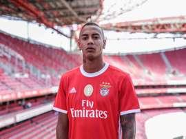 Jhonder Cádiz signe au Benfica. Twitter/SLBenfica