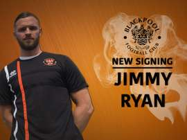El Blackpool se refuerza con Jimmy Ryan. Blackpool