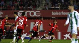 Álex López marcó el primero del partido. LaLiga