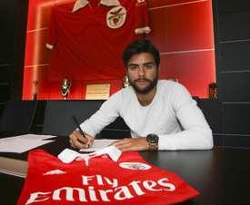 Amaraya es jugador del Benfica. SLBenfica