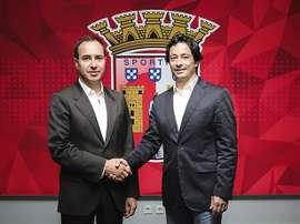 Está encontrado o substituto de Abel, promovido a semana passada à equipa principal. Sp. Braga