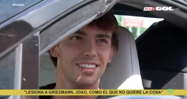 Joao Félix defendió a Griezmann. Captura/GOL