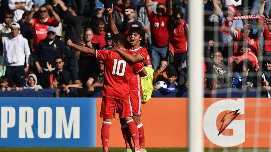 Joao Felix pourrait recaler en Premier League. UEFA/Youth League