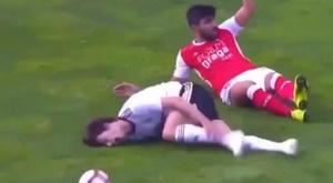 A dive that condemns a promising Joao Felix. Screenshot/LigaNOS