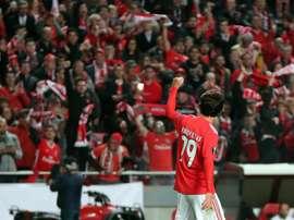 Os convocados de Bruno Lage para o duelo frente ao Marítimo. Twitter@SLBenfica