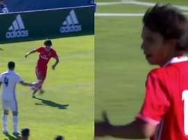 João Félix já sabe o que é marcar ao Real Madrid. Captura