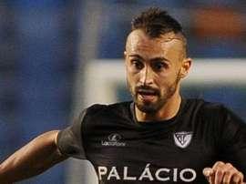 João Martins, durante un partido. ABola