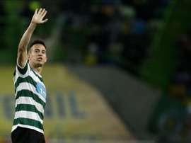 O português passou pelo Sporting CP em duas fases diferentes da carreira. EFE