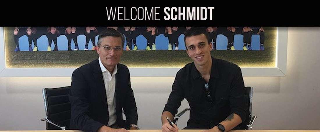 Joao Schmidt, nouveau joueur d'Atalanta. Atalanta_BC