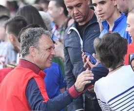 Caparrós se despide sin derrotas. Twitter/SevillaFC