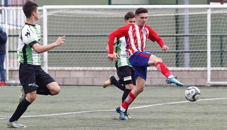 El extremo andaluz acababa contrato el 1 de julio. AtleticodeMadrid