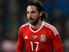 Allen suffered a suspected concussion against Republic of Ireland. AFP