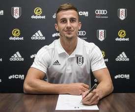 Bryan se arrepintió antes de firmar. FulhamFC