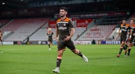 El Liverpool incorporó al joven talento Joe Jardy. Brentford