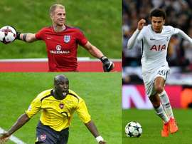 Joe Hart, Sol Campbell and Dele Alli. BeSoccer