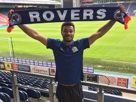 El delantero se ha comprometido con los 'rovers' hasta junio de 2018. BlackburnRovers