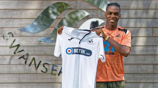 Asoro, nouveau joueur de Swansea. SwanseaCity